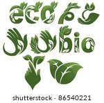 Collection Of Ecological Symbols