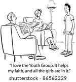 i love the youth group.  it... | Shutterstock . vector #86562229