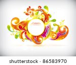 abstract colorful vector banner | Shutterstock .eps vector #86583970