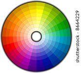 color wheel with 192 patterns ... | Shutterstock .eps vector #8664229