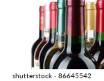 bottle of wine | Shutterstock . vector #86645542