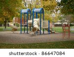 A Picture Of A Playground In...