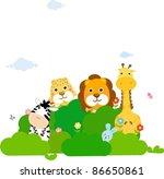animal | Shutterstock .eps vector #86650861