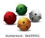 jingle bells vector | Shutterstock .eps vector #86659051