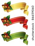 Banner Set  With Jingle Bells