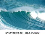 Incredible Huge Wave At The...