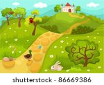 card | Shutterstock .eps vector #86669386
