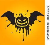 halloween pumpkin | Shutterstock .eps vector #86696179