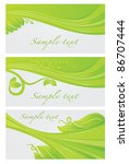 vector collection of decorative ... | Shutterstock .eps vector #86707444