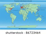 vector map of the greatest... | Shutterstock .eps vector #86723464
