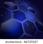 stylized abstract background... | Shutterstock .eps vector #86725327