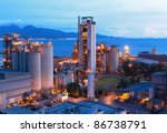 cement factory | Shutterstock . vector #86738791