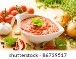 Tomato Sauce In A White Sauce...