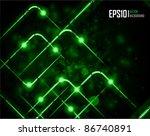 vector illustration of abstract ...   Shutterstock .eps vector #86740891