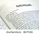 Small photo of Galatians Book Of The Bible