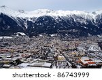 innsbruck  view from bergisel | Shutterstock . vector #86743999