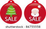 sale tickets  labels  stamps ... | Shutterstock .eps vector #86755558