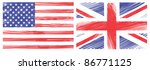 draw flag of the united states...   Shutterstock .eps vector #86771125