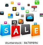 "vector illustration of ""sale""..."