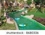 Green Lazy River In Vinpearl...