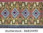 thai fabric | Shutterstock . vector #86814490