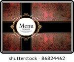 vintage design template | Shutterstock .eps vector #86824462