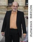 salman rushdie arrives for the...   Shutterstock . vector #86831206
