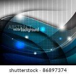 eps10 abstract vector concept... | Shutterstock .eps vector #86897374