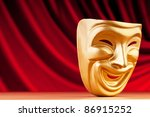 masks with the theatre concept | Shutterstock . vector #86915252