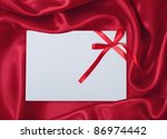 Card with blank space for your text - stock photo