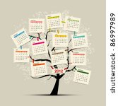 Calendar Tree 2012 For Your...