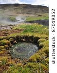 Hot Spring Area  Iceland