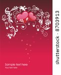 the valentine s day. | Shutterstock .eps vector #8703913