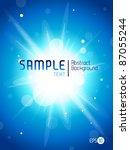 blue splash abstract background | Shutterstock .eps vector #87055244