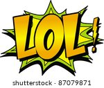 lol | Shutterstock .eps vector #87079871
