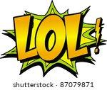 lol   Shutterstock .eps vector #87079871