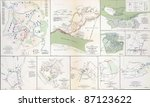 Maps Of The Battlefields Of...