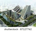 3d building | Shutterstock . vector #87127762
