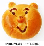 Bread Bear - stock photo