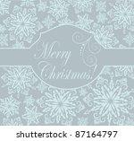 christmas greeting   Shutterstock .eps vector #87164797