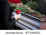 religion  death and dolor   ... | Shutterstock . vector #87196501