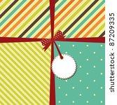 vector greeting retro... | Shutterstock .eps vector #87209335