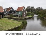 holland  marken  amsterdam  ... | Shutterstock . vector #87221242
