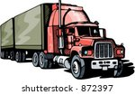 highway truck. check my... | Shutterstock .eps vector #872397