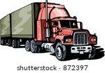 highway truck. check my...   Shutterstock .eps vector #872397
