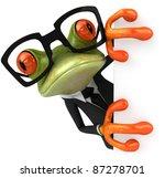 cool frog | Shutterstock . vector #87278701