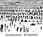 Over 300 Silhouette In Action