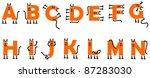 Cat Alphabet A N