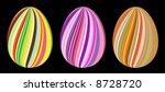 easter eggs   Shutterstock .eps vector #8728720