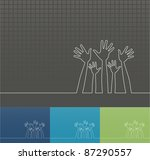 simple line illustration of... | Shutterstock .eps vector #87290557